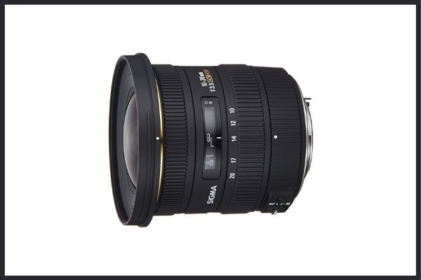 Best third party lenses: Sigma 10-20mm F3.5