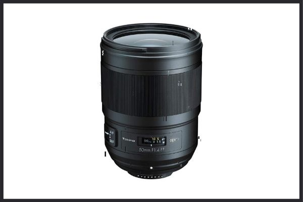 Best third party lenses: Tokina Opera 50mm f1.4