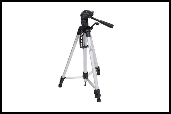 tripod for dslr: AmazonBasics 60-Inch Lightweight